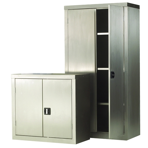 Stainless Steel Cupboards